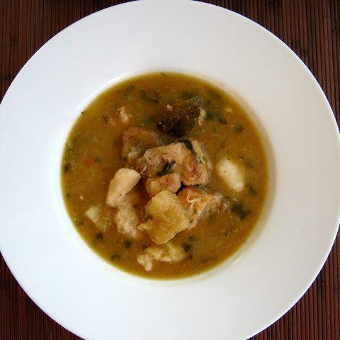 Caribbean chicken soup - Alica's Pepperpot