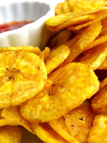 Plantain Chips: Baked or Fried? - Alica's Pepperpot