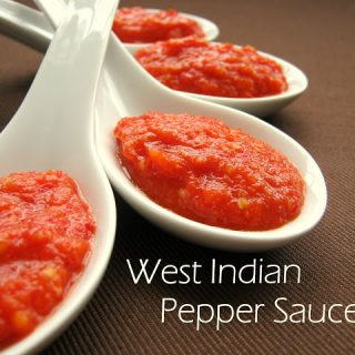 West Indian Pepper Sauce - Alica's Pepperpot