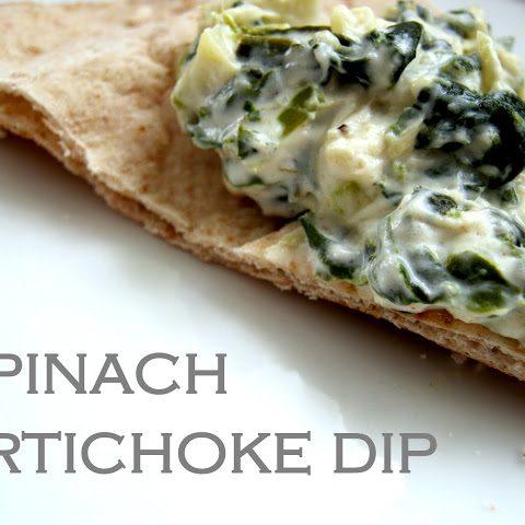 Superbowl Party: Spinach Artichoke Dip - Alica's Pepperpot