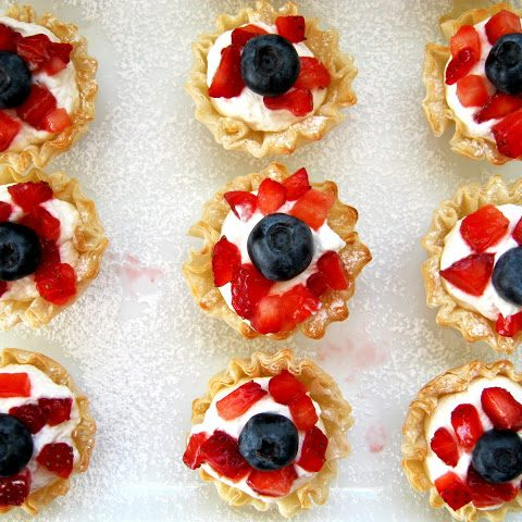 Phyllo fruit cups - Alica's Pepperpot