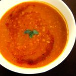 Spicy red lentil soup - Alica's Pepperpot