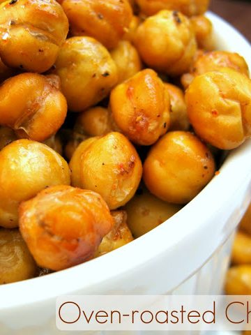 Oven roasted chickpeas - Alica's Pepperpot