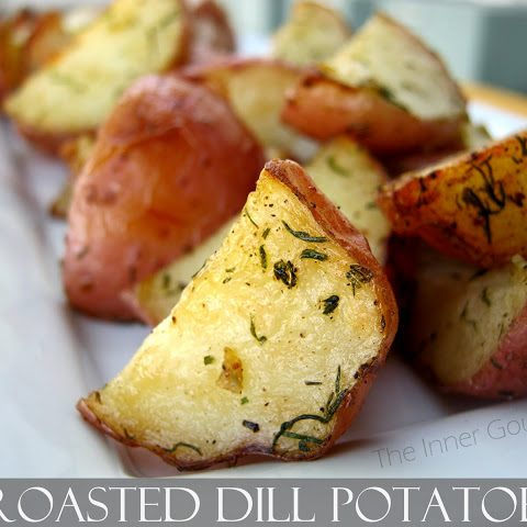 Roasted Dill Potatoes - Alica's Pepperpot