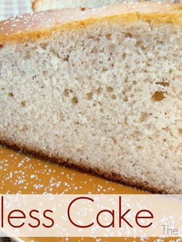 Eggless Cake - Alica's Pepperpot