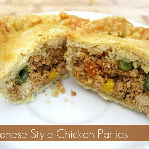 Guyanese Style Chicken Patties - Alica's Pepperpot