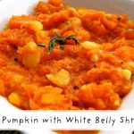 Guyanese-style Fry Pumpkin and Shrimp