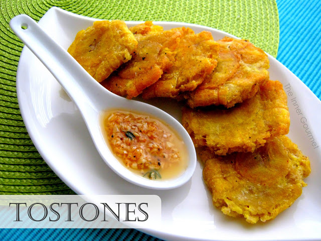 Tostones With A Garlic Dipping Sauce Alica S Pepperpot