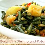 Bora with Shrimp and Potatoes