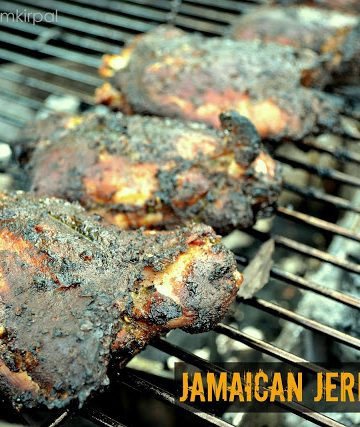 Jamaican Jerk Chicken - Alica's Pepperpot