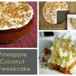 Pineapple Coconut Cheesecake