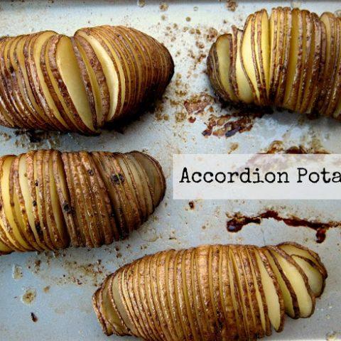 Accordion potato, Hasselback potato
