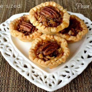 Bite-sized pecan pies - Alica's Pepperpot