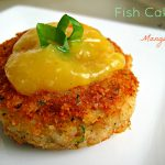 Guyanese-style Fish Cakes with Mango Sour