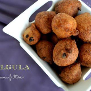 Gulgula- Sweet banana fritters