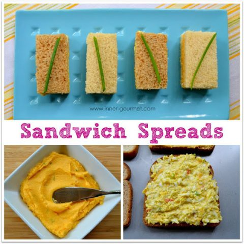 Cheese Paste and Egg Salad Sandwiches - Alica's Pepper Pot