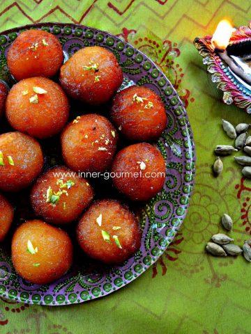 Gulab jamun - Alica's Pepperpot