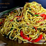 Guyanese-style Chow Mein - Alica's Pepper Pot