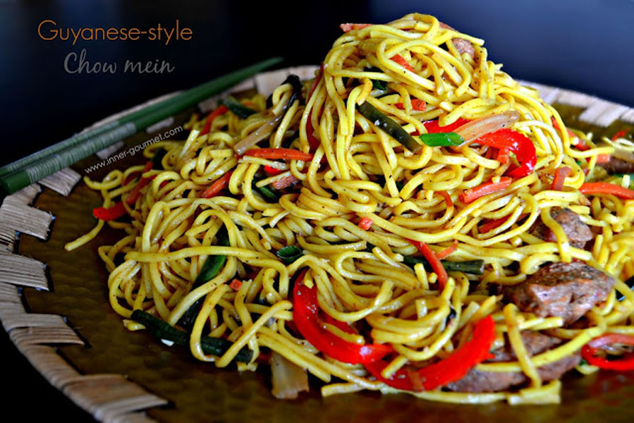 Style chow mein alicas pepper pot guyanese style chow mein forumfinder Images
