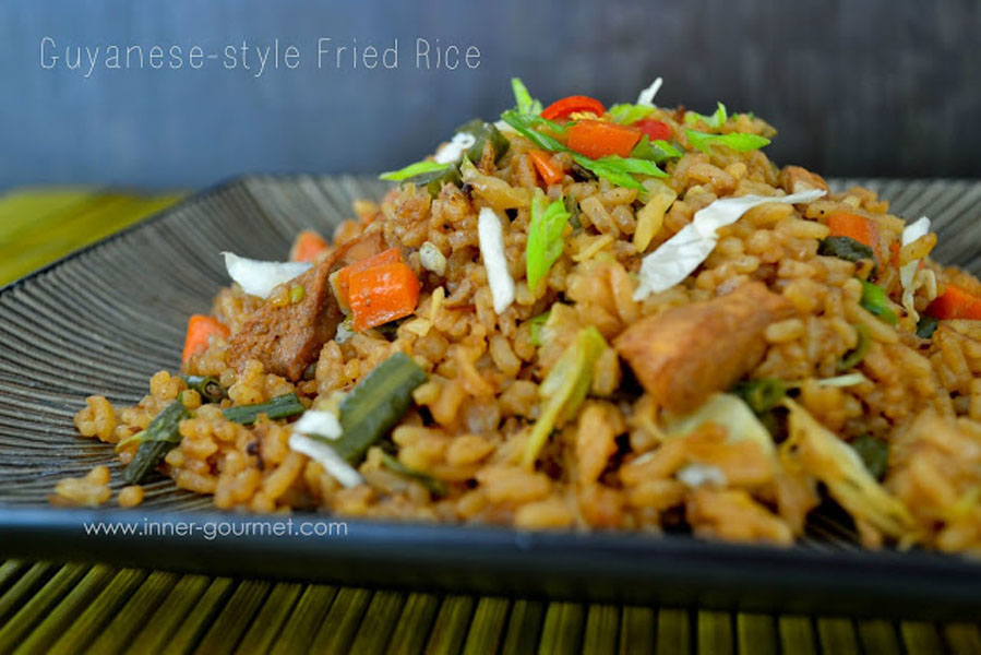 Guyanese style fried rice alicas pepper pot ccuart Image collections
