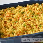 Side Dish: Carrot & Ginger Rice - Alica's Pepper Pot