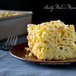 Aunty Mala's Macaroni Pie