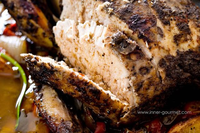 Whole Roasted Jerk Chicken - Alica's Pepper Pot