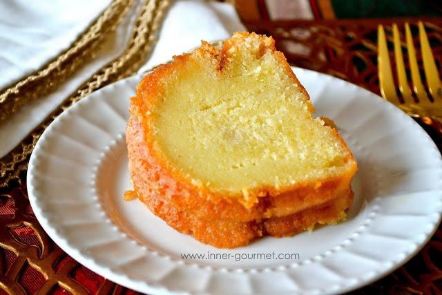 Brandy Soaked Bundt Cake