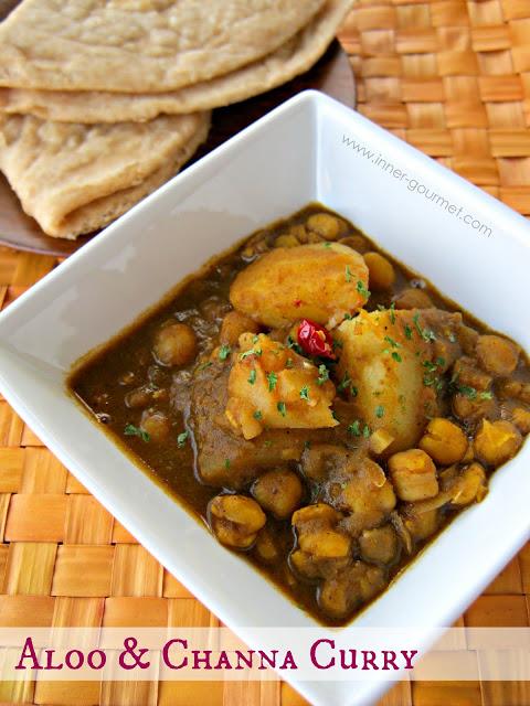 Aloo & Channa Curry (Potato & Chickpea)