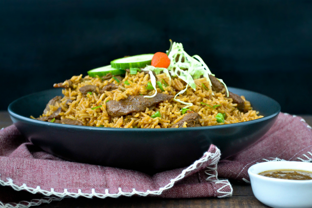 Lamb fried rice alicas pepperpot lamb fried rice ccuart Image collections
