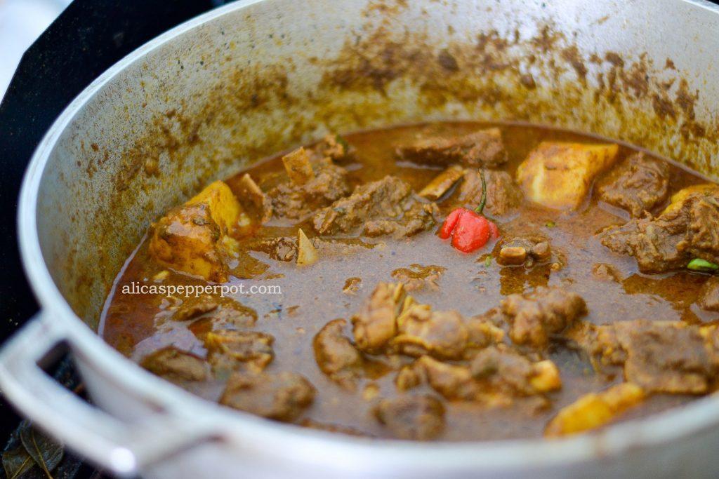 Goat Curry - Alica's Pepperpot
