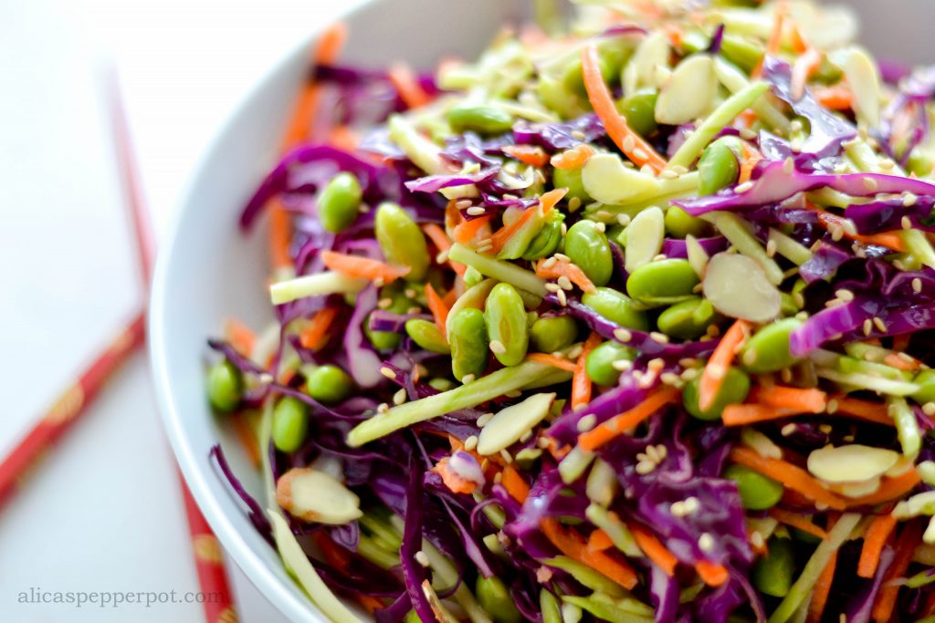 Asian Slaw - alica's pepperpot