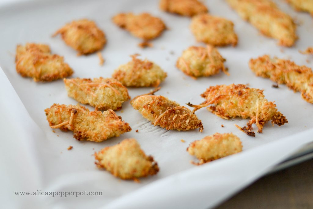 Baked Chicken Nuggets - Alica's Pepperpot