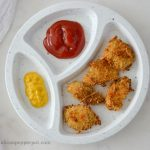 Tiny Pots: Baked Chicken Nuggets