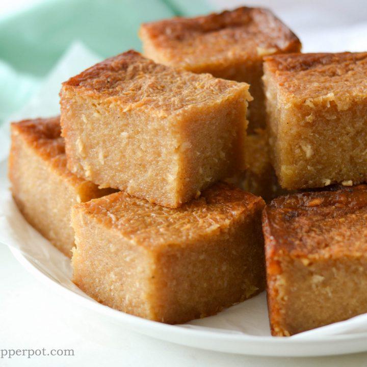 Cassava Pone (Yuca Cake)