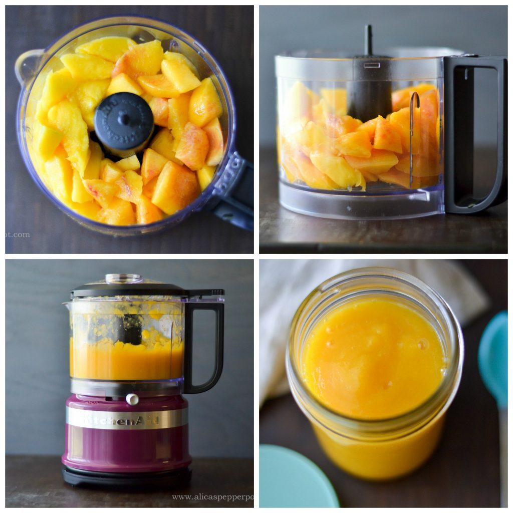 Mango + Peach Puree - Alica's Pepperpot