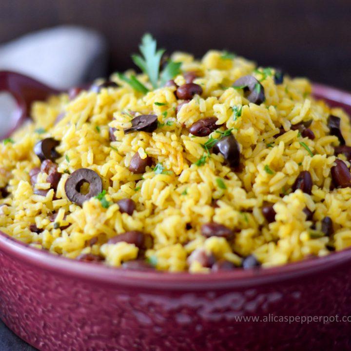 Yellow rice - Alica's Pepperpot