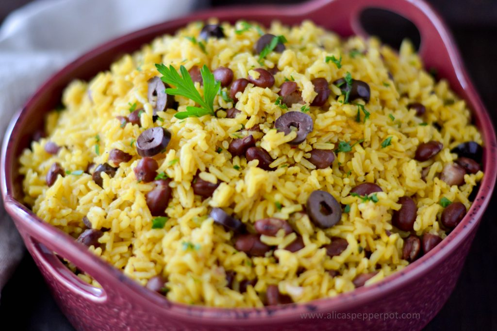 Yellow rice - Alica's Pepperpot