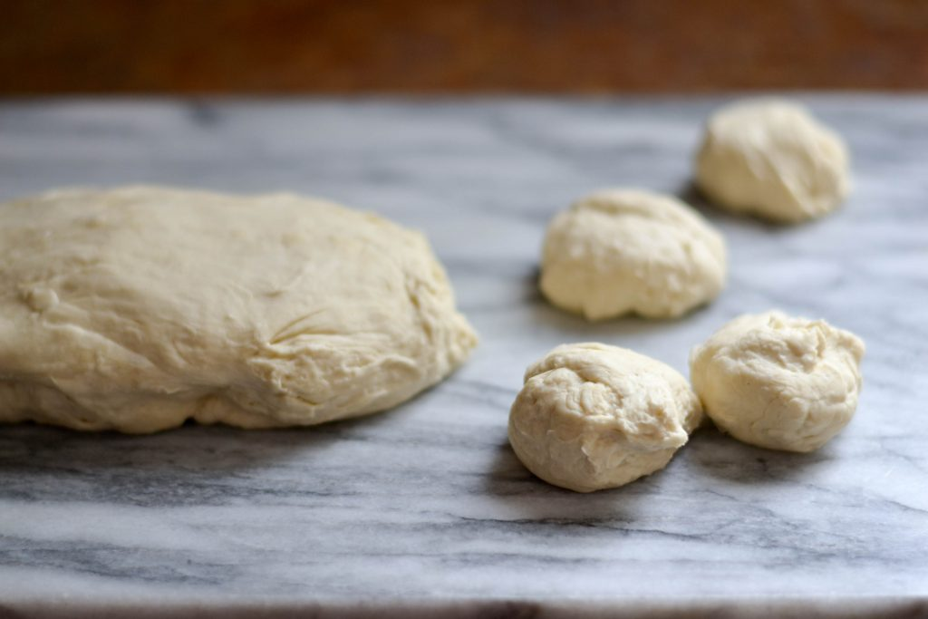 Aloo roti (potato stuffed flatbread)