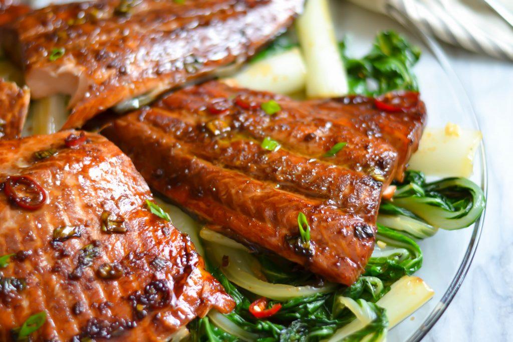 Soy Ginger Salmon - Alica's Pepperpot