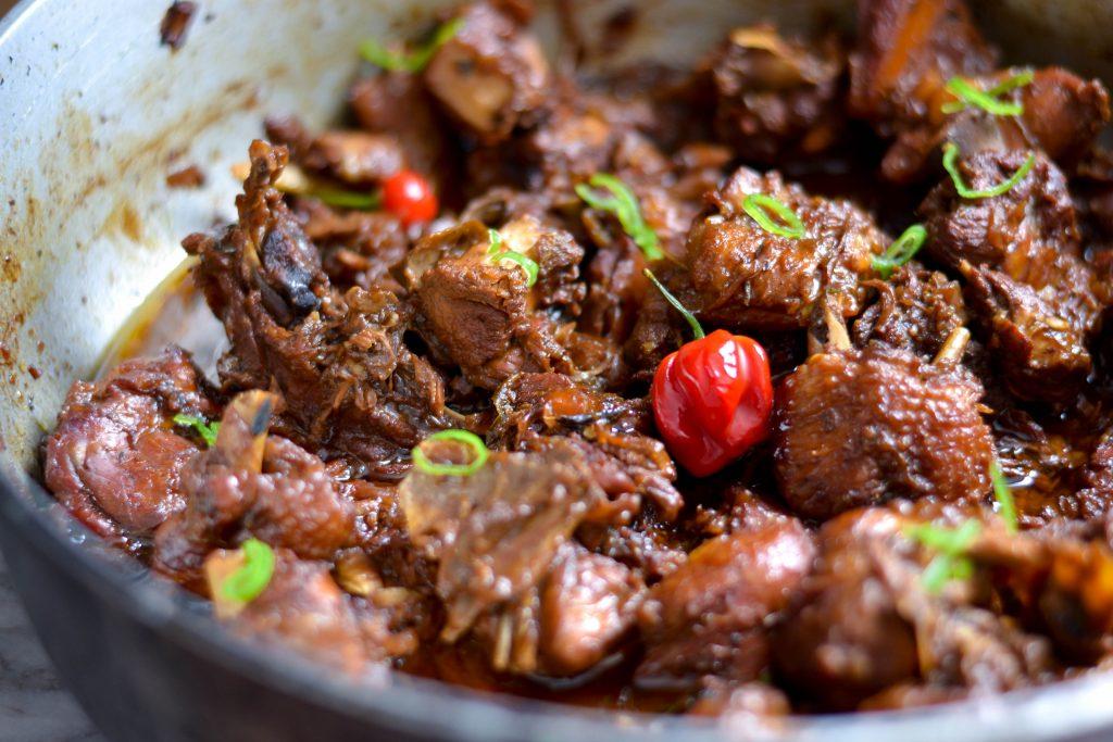Brown Stewed Chicken - Alicas Pepperpot