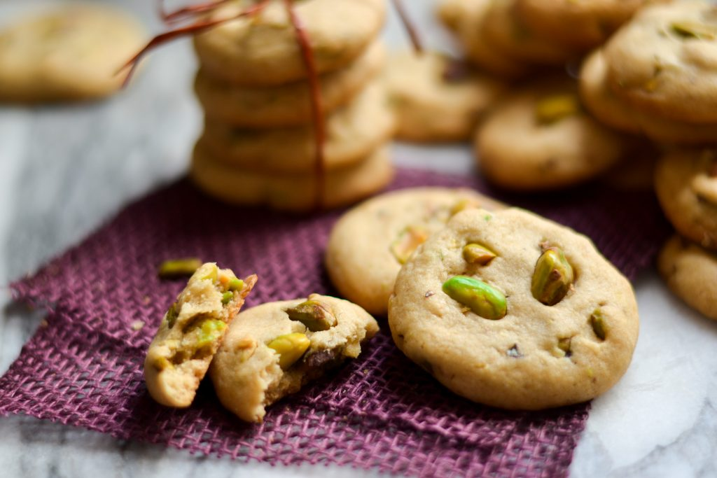Pistachio Cookies - Alica's Pepperpot