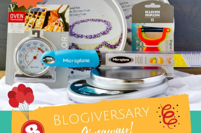 Alica's Pepperpot Blogiversary Giveaway