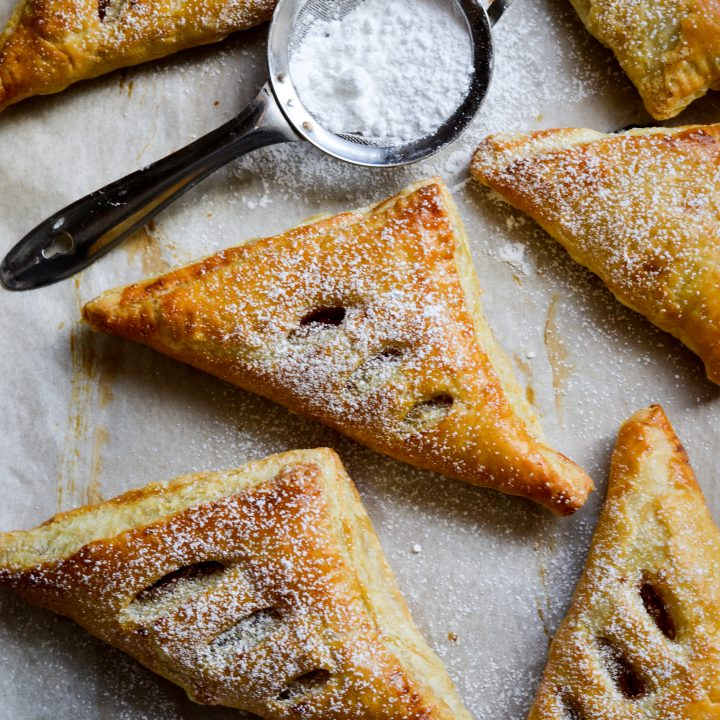 This is a photo of Guava and Cream Cheese turnovers - Alica's Pepperpot