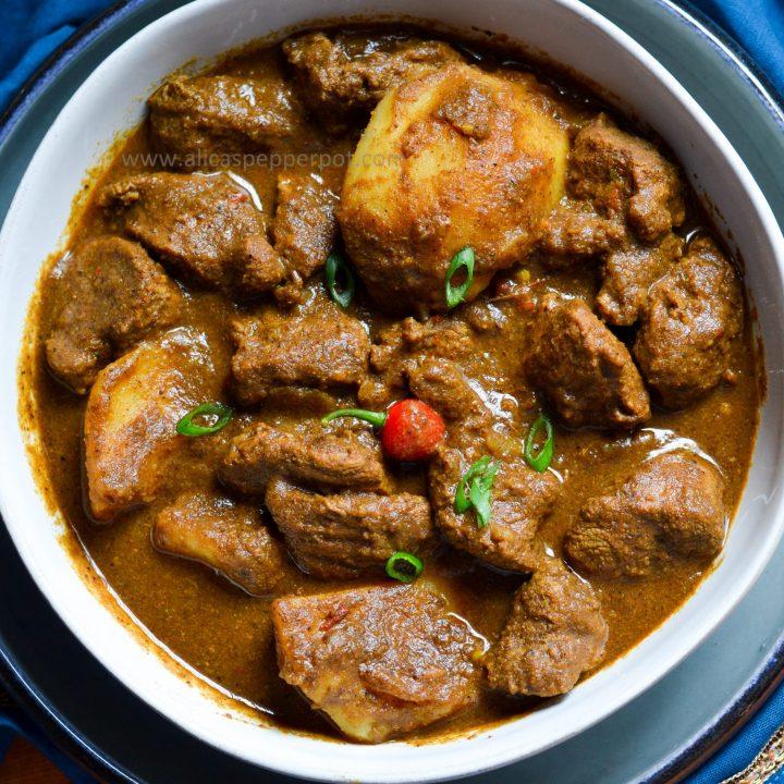 Lamb Curry - Alica's Pepperpot