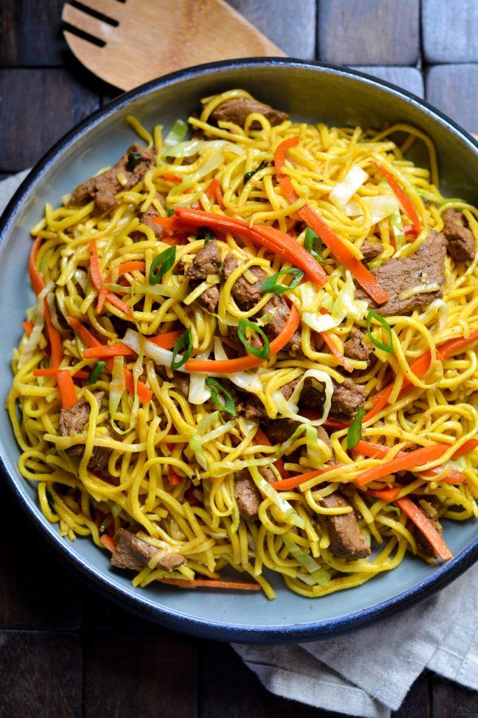 Lamb Chow Mein - Alica's Pepperpot