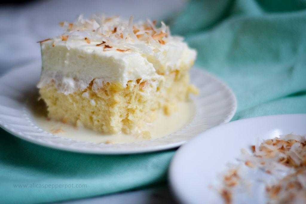 Tres Leches Cake Alicas Pepperpot