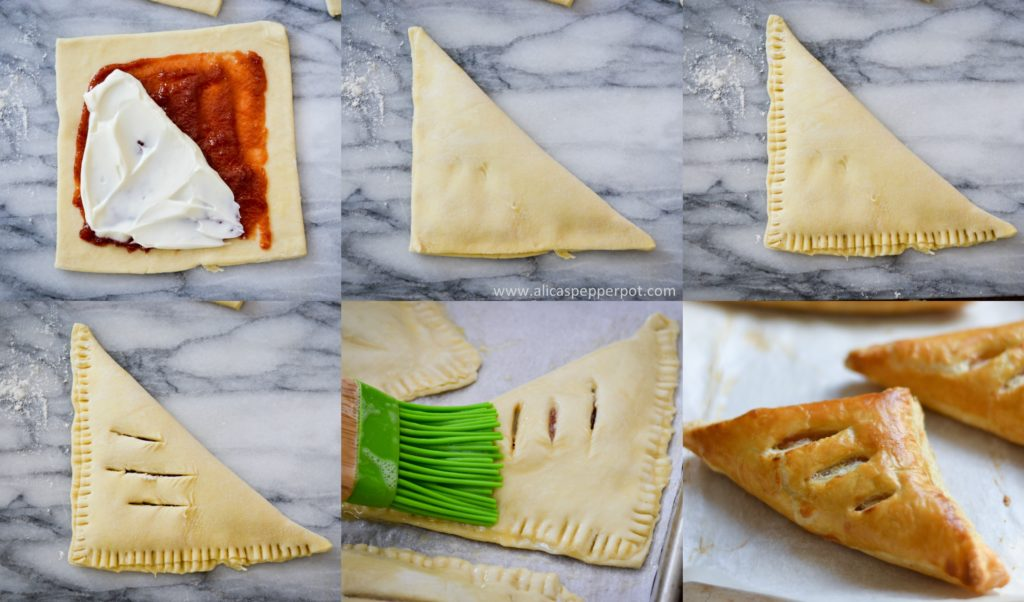 Guava and Cream Cheese turnovers - Alica's Pepperpot
