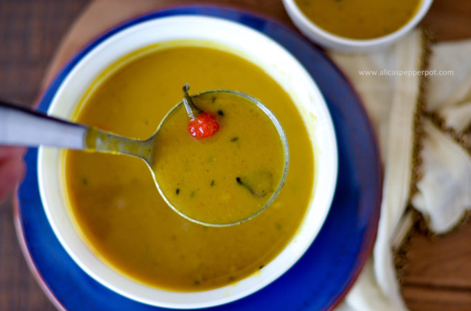 Guyanese dhal recipe - Alica's Pepperpot