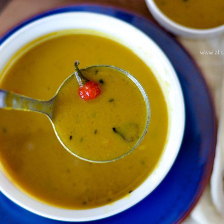 Guyanese dhal recipe - Alica's Pepperpot